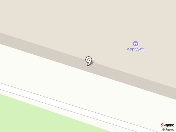 Афродита на карте Великого Новгорода