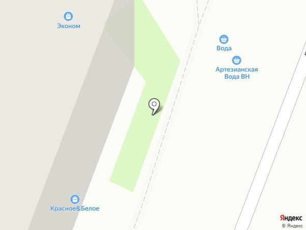 АРТЕЗИАНСКАЯ ВОДА ВН на карте Великого Новгорода