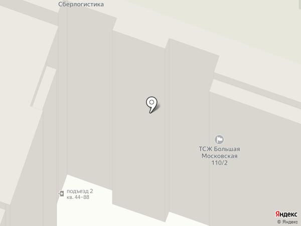 Большая Московская 110/2, ТСН на карте Великого Новгорода