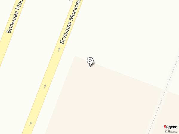 Сытный дом на карте Великого Новгорода