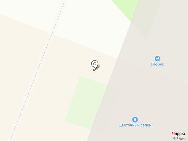 Евгения на карте Великого Новгорода