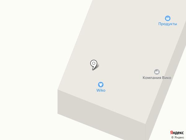 Вико на карте Трубичино