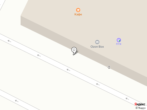 АЗС ПТК на карте Великого Новгорода