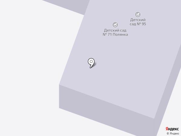 Детский сад №71, Полянка на карте Великого Новгорода