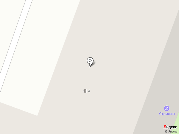 Стрижка на карте Великого Новгорода