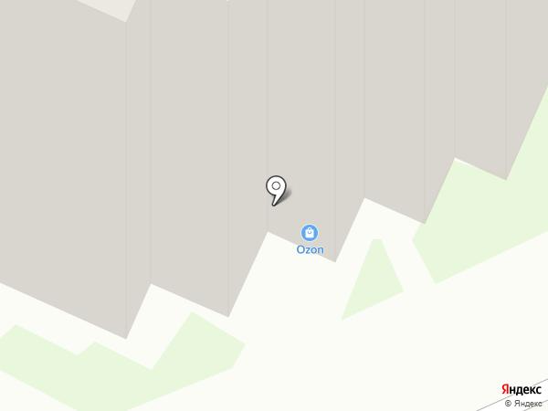 Астролинк на карте Великого Новгорода