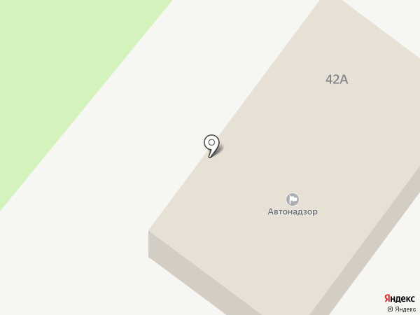 Автонадзор на карте Великого Новгорода