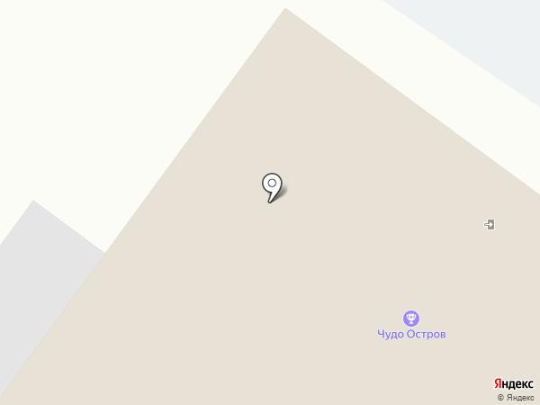 Чудо Остров на карте Великого Новгорода