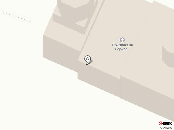 Церковь Покрова Пресвятой Богородицы на карте Трубичино