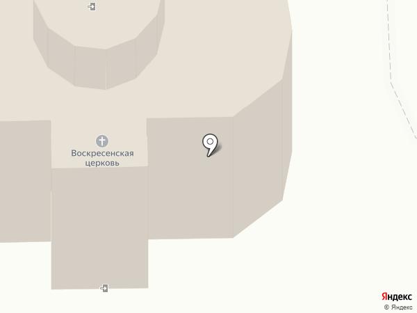 Церковь Воскресения Христова на карте Смоленска