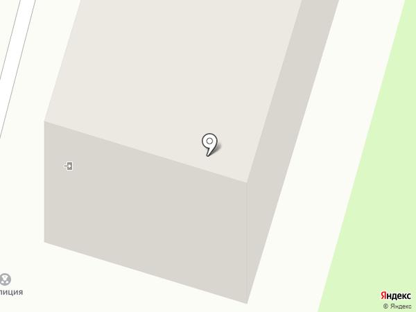 Участковый пункт полиции №1 в Заднепровском районе на карте Смоленска