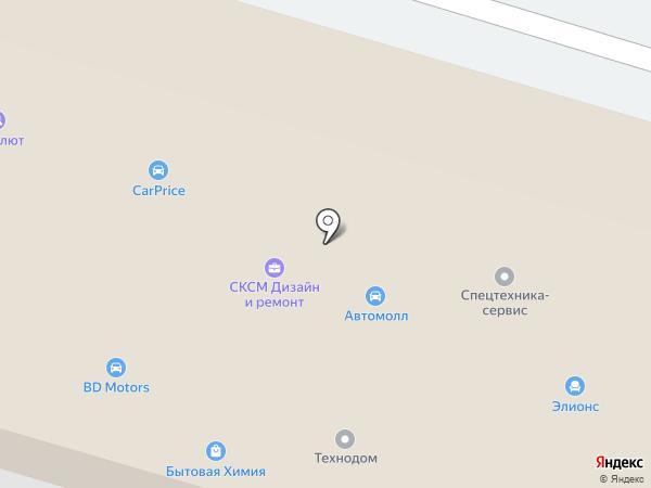 АВТОСПРУТ на карте Смоленска