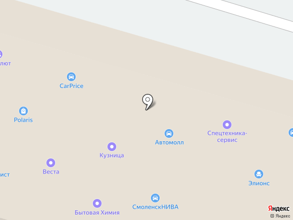 Smolensk NIVA на карте Смоленска