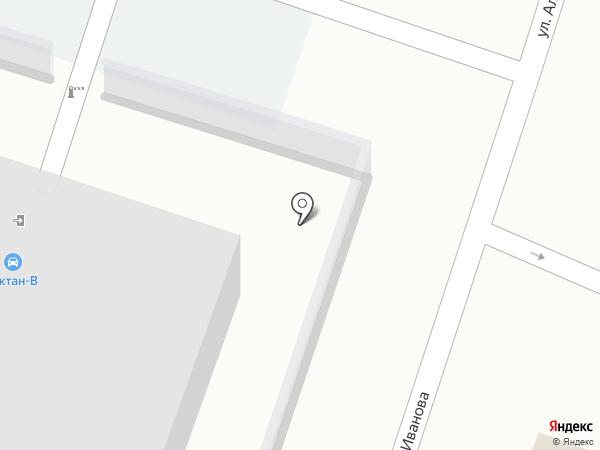 Октан-В на карте Смоленска