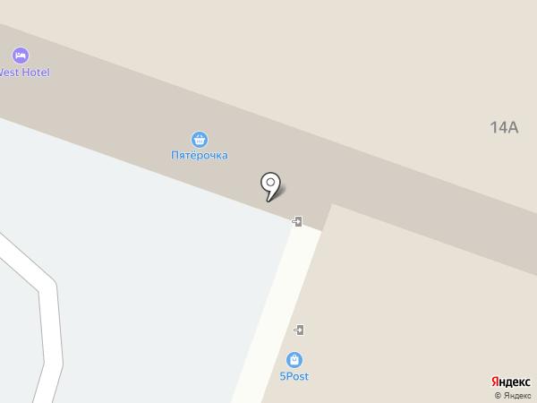 Разница на карте Смоленска
