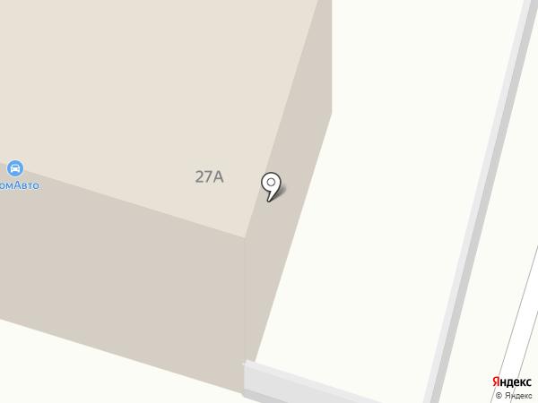 Магазин автозапчастей на карте Смоленска