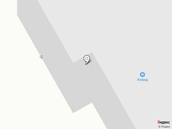 Алвид, ЗАО на карте Смоленска