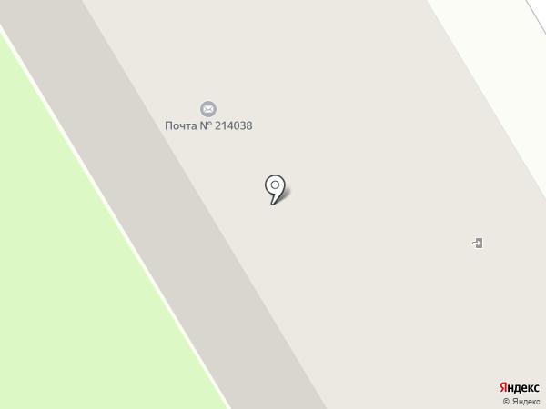 Почтовое отделение №38 на карте Смоленска