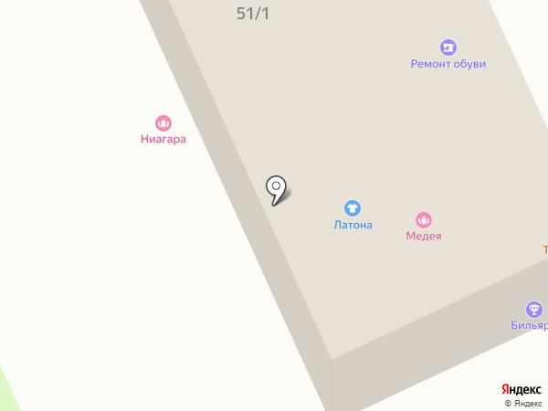 Медея на карте Смоленска