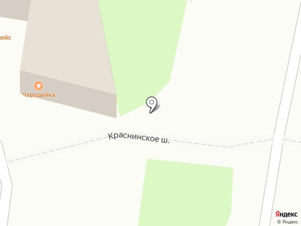 Пир на карте Смоленска