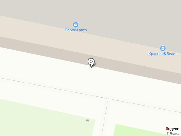 Семеновский на карте Смоленска