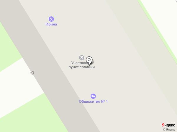 Участковый пункт полиции №5 в Ленинском районе на карте Смоленска