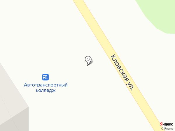 Киоск по продаже овощей на карте Смоленска