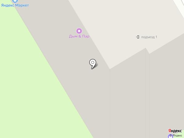 Яблоко на карте Смоленска