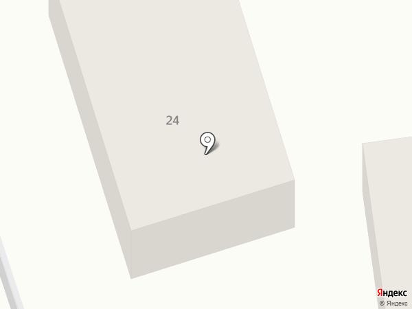 Стрелиция на карте Смоленска