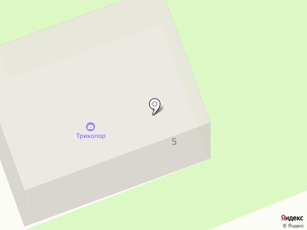 Амариллис на карте Смоленска