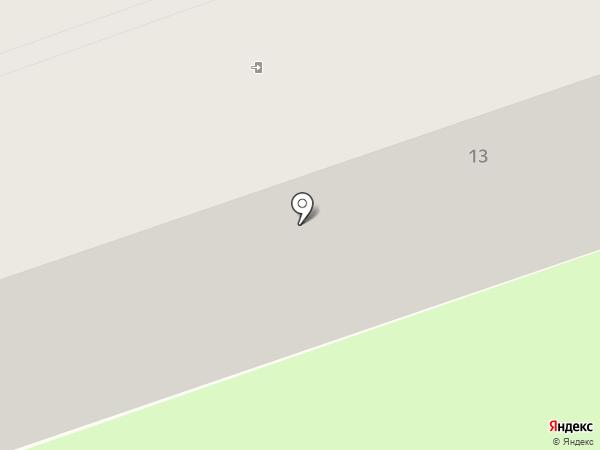Участковый пункт полиции № 2 в Ленинском районе на карте Смоленска