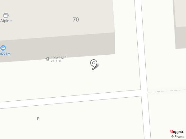 Форсаж на карте Смоленска