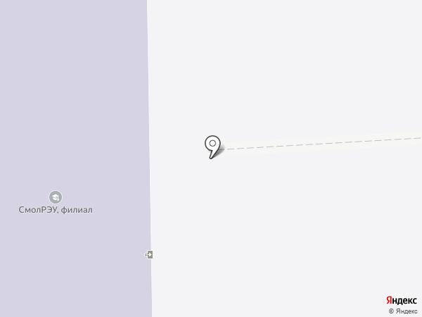 Опорный пункт полиции на карте Смоленска