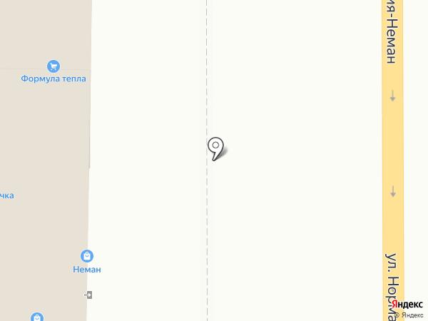 Смоленское на карте Смоленска