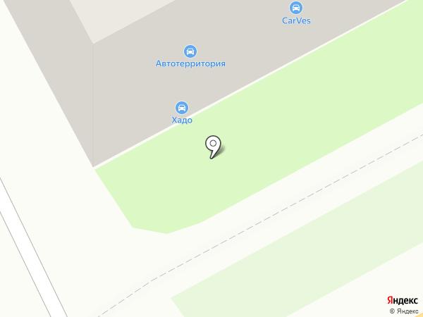ХАДО на карте Смоленска