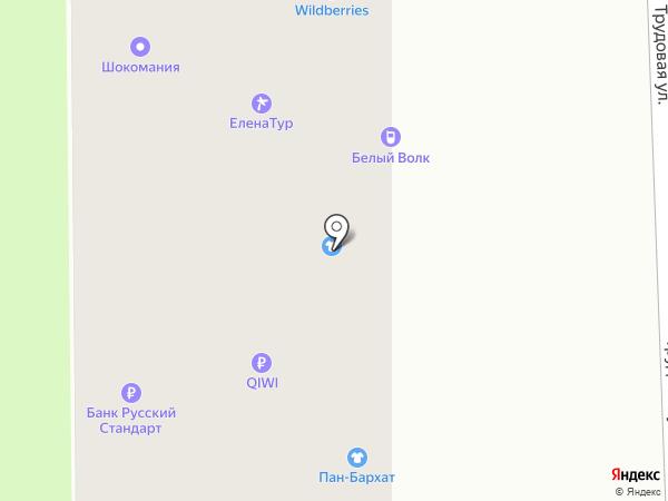 Автополка на карте Смоленска