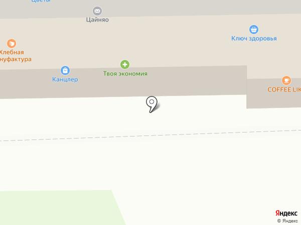 Галант на карте Смоленска