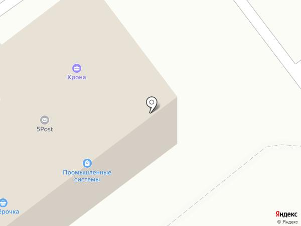 Квант-С на карте Смоленска