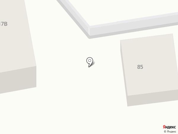 Город С. на карте Смоленска