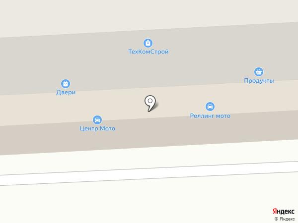 Кристалл на карте Смоленска