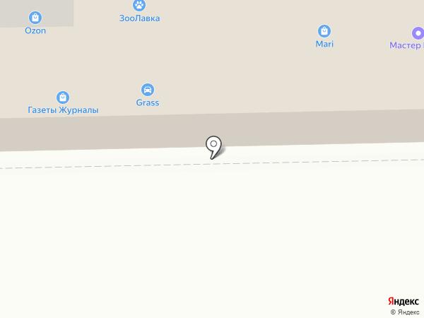 Магнит на карте Смоленска