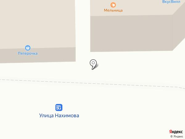Василиса на карте Смоленска