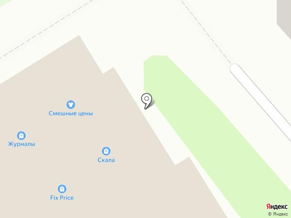Милана на карте Смоленска
