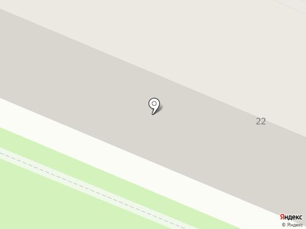 Детская поликлиника №1 на карте Смоленска