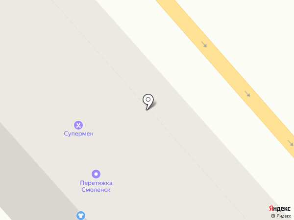 Орнатус на карте Смоленска