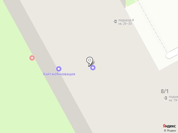 КБ Юниаструм банк на карте Смоленска