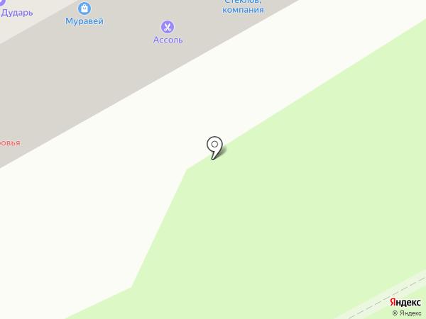 Муравей на карте Смоленска
