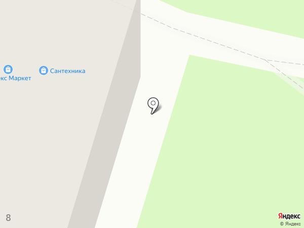 Сеть магазинов сантехники на карте Смоленска