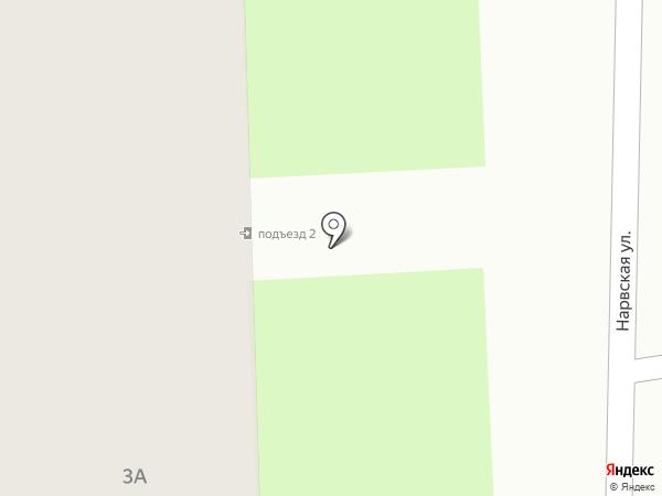 Арион на карте Смоленска