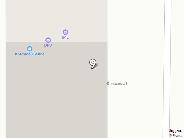 Фиалка на карте Смоленска